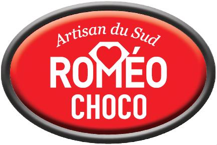Logo ovale Roméo Choco